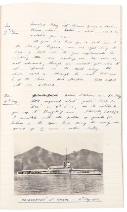 [Three autograph manuscript diaries kept by Moore during his service on the H.M.S. Cockchafer on the Yangtze Flotilla]