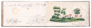 Late eighteenth century album amicorum kept by a Prussian physician or medical student