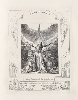 Illustrations of the Book of Job. Invented and engraved by William Blake. William BLAKE