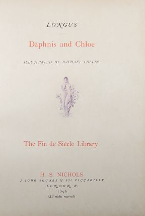 Daphnis and Chloe ... With a preface by Jules Claretie. LONGUS, CHAMPOLLION