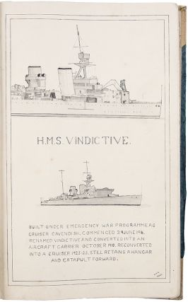 [Four ships logs relating to his service aboard British battleships and cruisers between the wars, including time along the coasts of India and China]