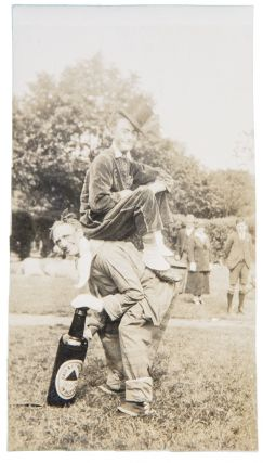 [Disbound albums of photographs relating mostly to members of the Cooke family, depicting circus performances around the world, as well as portraits and other travel photographs]