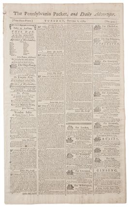The Pennsylvania Packet, and Daily Advertiser... [No. 3333]. BILL OF RIGHTS