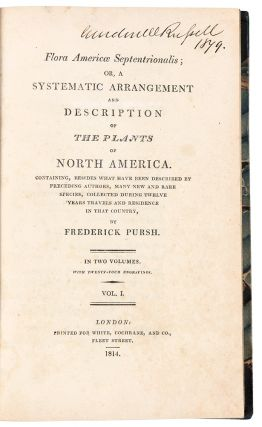 Flora Americae Septentrionalis; or, A Systematic Arrangement and Description of the Plants of...