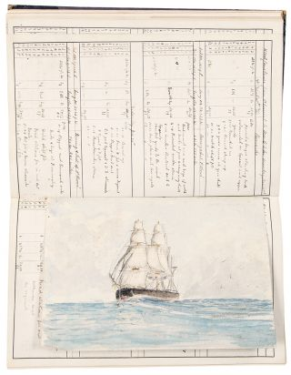 Log of HMS Achilles Commanded by Captain E. Kelly / Log of HMS Constance Comd. by Capt. F[rederic] Proby Doughty