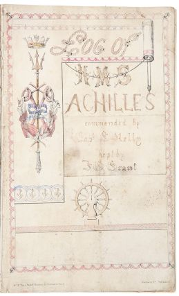 Log of HMS Achilles Commanded by Captain E. Kelly / Log of HMS Constance Comd. by Capt....