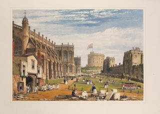 Views of the Interior and Exterior of Windsor Castle