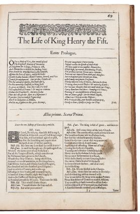 The Life of King Henry the Fift ... [Bound with:] The First Part of King Henry the Sixt ... [and...