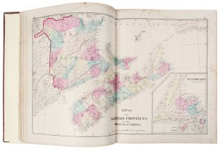 Atlas of the Maritime Provinces of the Dominion of Canada, with Historical and Geographical...