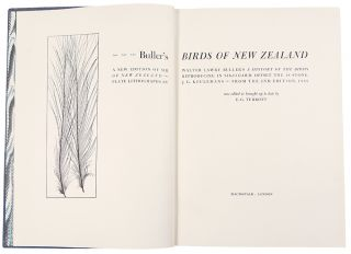 Buller's Birds of New Zealand: a New Edition of Sir Walter Lawry Buller's A History of the Birds of New Zealand