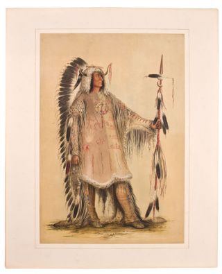 Catlin's North American Indian Portfolio. Hunting Scenes and Amusements of the Rocky Mountains and Prairies of America. From Drawings and Notes of the Author, made during Eight Years' Travel amongst Forty-Eight of the Wildest and most Remote Tribes of Savages in North America