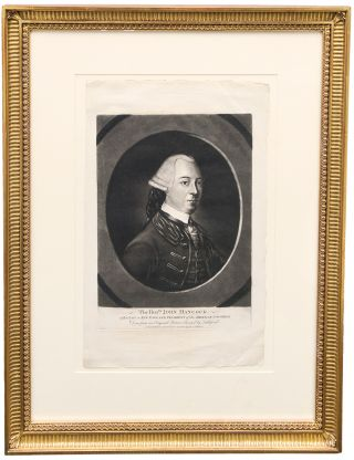 The Honble. John Hancock. of Boston in New-England; president of the American Congress. Done from an original picture painted by Littleford