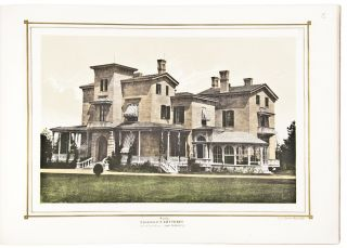 Villas on the Hudson. A Collection of Photo-lithographs of Thirty-one Country Residences
