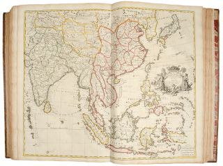 A New General Atlas, Containing a geographical and historical account of all the empires, kingdoms and other dominions of the world: with the natural history and trade of each country